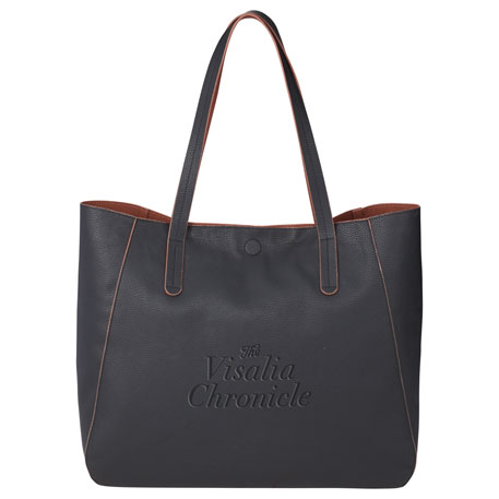 Brooklyn Pebbled Tote, 3450-03, 1 Colour Imprint