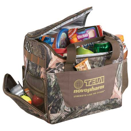 Hunt Valley 24 Can Camo Cooler, 0045-21, 1 Colour Imprint