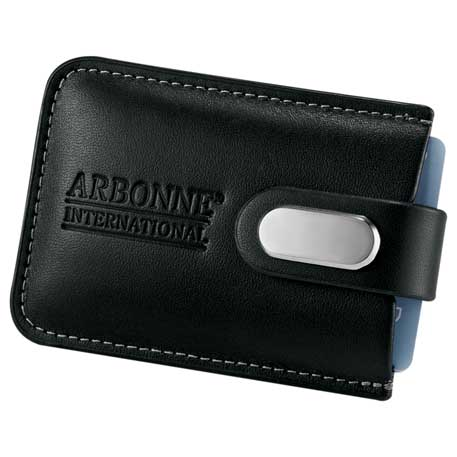 Executive Business Card Case, 1025-23 - Debossed Imprint