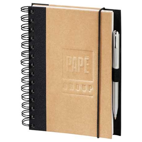 Evolution Recycled JournalBook, 2230-07, Deboss Imprint