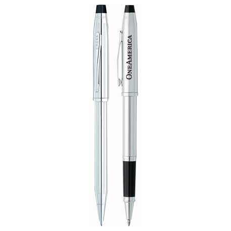 Cross(R) Century II Lustrous Chrome Pen Set, 2767-14,