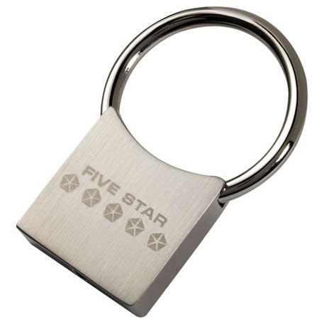 Charity Key Holder, 1020-04 - Laser Engraved Imprint