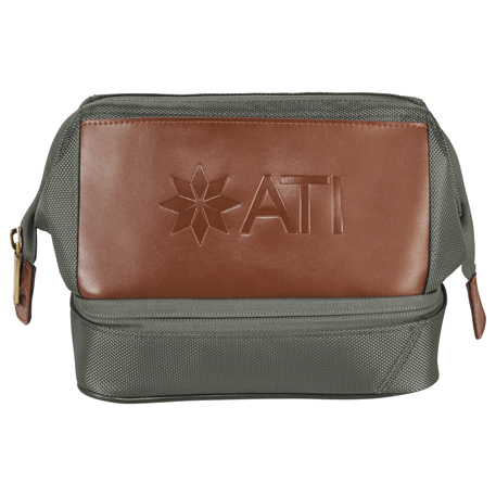 Cutter & Buck Bainbridge Dopp Kit, 9870-52-L, Debossed Logo