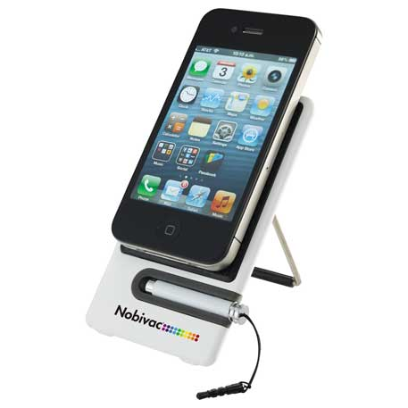 Smartphone Holder and Stylus, 1070-53, 1 Colour Imprint