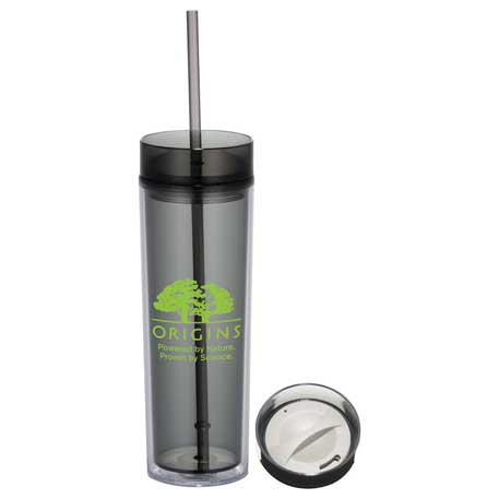 Hot & Cold Skinny Tumbler 15oz, 1623-49, 1 Colour Imprint