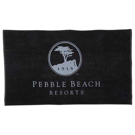 15 lb./doz. Coloured Beach Towel, 2090-14 - Tone on Tone Imprint