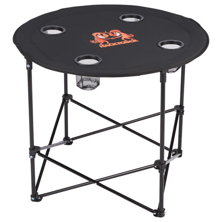 Game Day Folding Table (4 person), 1070-81, 1 Colour Imprint