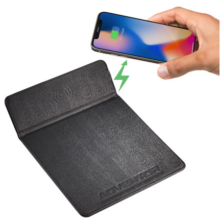 Wireless Charging Mouse Pad, 1071-27, Deboss Imprint