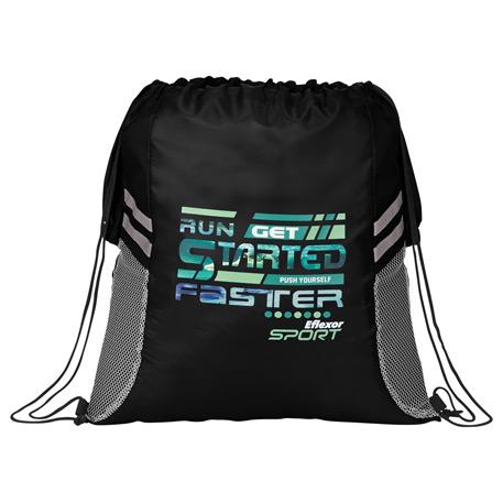 BackSac Sporty Drawstring Bag, 3005-34, 1 Colour Imprint