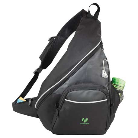 Vortex Deluxe Sling Backpack, 2520-31 - 1 Colour Imprint