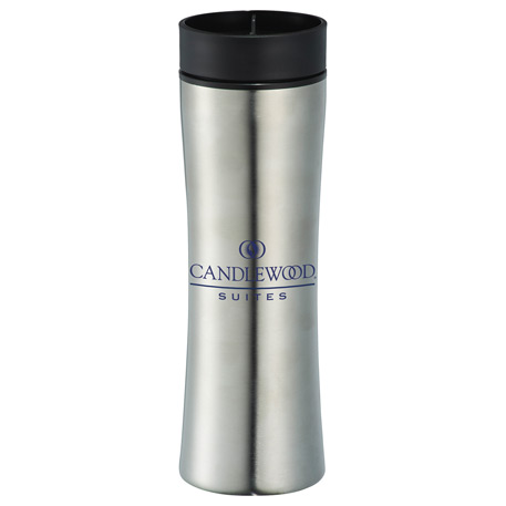 360 Sip Stainless Steel Tumbler 16oz, 1623-81 - 1 Colour Imprint