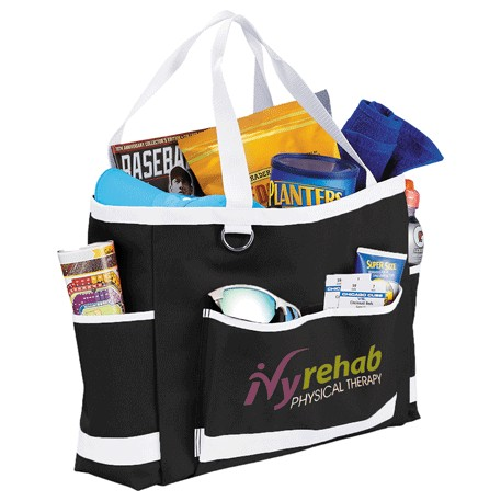 Game Day Carry-All Tote, 2301-16 - 1 Colour Imprint