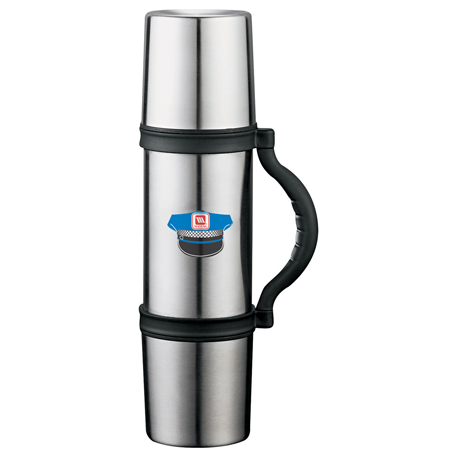 Zippo 3-in-1 Thermo Vacuum Flask 24oz, 7550-56 - 1 Colour Imprint