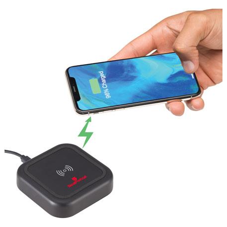 Coast Bluetooth Speaker Wireless Charging Pad, 7197-09-L, 1 Colour Imprint