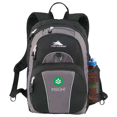 High Sierra Enzo Backpack, 8051-18 - 1 Colour Imprint