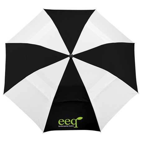 "42"" Vented Auto Open Windproof Slim Stick Umbrella, 2050-24 - 1 Colour Imprint"