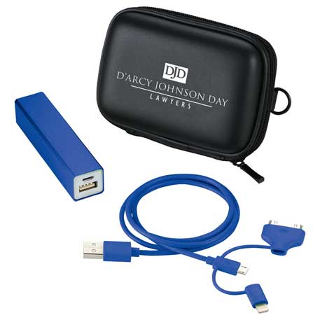 Jolt Power Kit with MFi 3- in-1 Cable, 7120-50 - 1 Colour Imprint