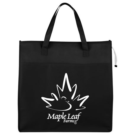 Jumbo Grocery Insulated Non-Woven Tote, 2160-65 - 1 Colour Imprint