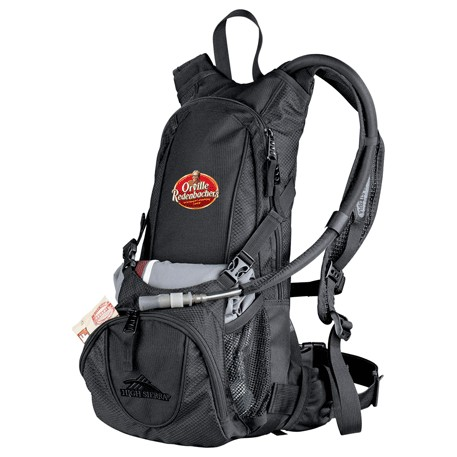High Sierra Drench Hydration Backpack, 8050-54, 1 Colour Imprint