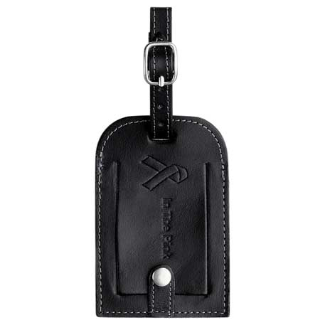 Millennium Leather Identification Tag, 9500-65-L, Debossed Logo
