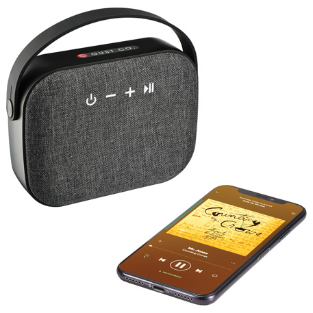 Woven Fabric Bluetooth Speaker, 7198-18 - 1 Colour Imprint
