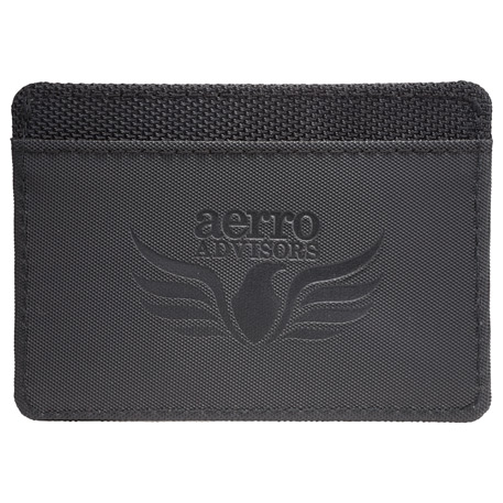 Elleven RFID Card Wallet, 9555-03-L, Debossed Logo