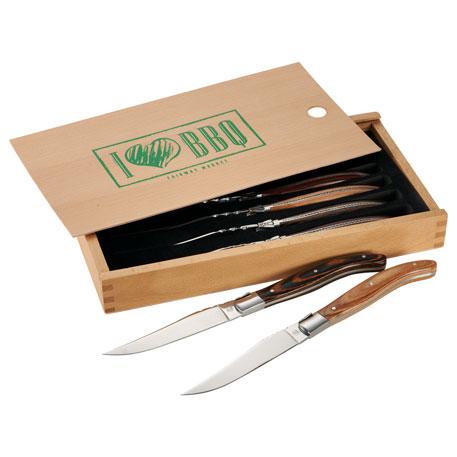Laguiole 6 Piece Array Steak Knife Set, 1250-37 - 1 Colour Imprint