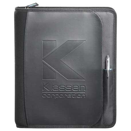 Zoom 2-in-1 Tech Sleeve JournalBook, 7003-51 - Debossed Imprint