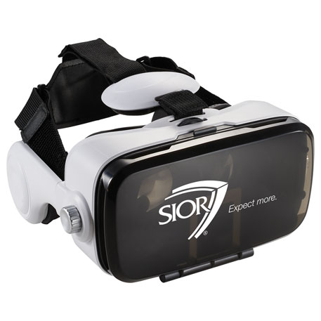 Virtual Reality Headset with Headphones, 7140-90, 1 Colour Imprint
