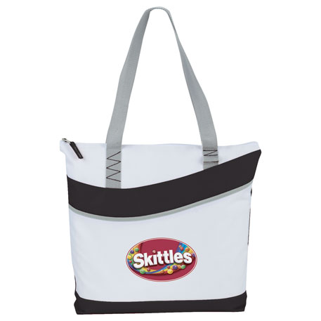 Upswing Zippered Convention Tote, 2301-23 - 1 Colour Imprint