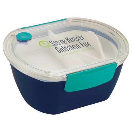 Punch Oval Food Container, 1031-46 - 1 Colour Imprint
