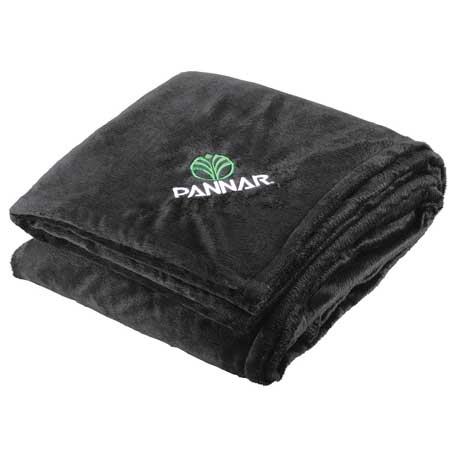 Sherpa Home Throw, 1080-05-L, Embroidered Logo