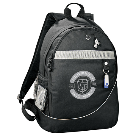 Incline Backpack, 4525-12, 1 Colour Imprint