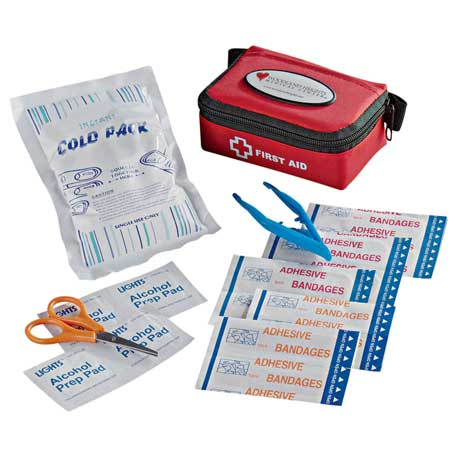 StaySafe Compact First Aid Kit, 1400-44 - Epoxy Dome - Full Colour