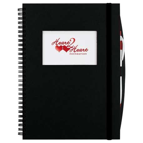 Frame Rectangle Large Hardcover JournalBook, 2700-26 - Full Colour Imprint