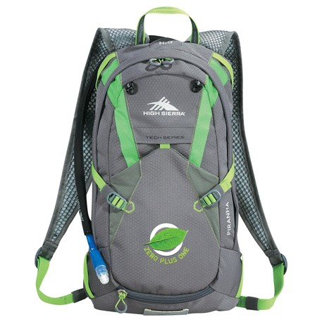 High Sierra Piranha Hydration Backpack, 8051-94, 1 Colour Imprint