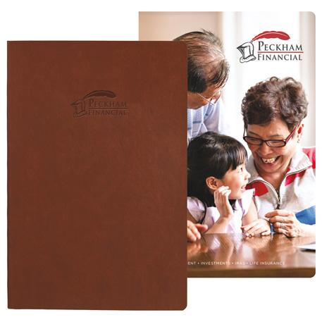 Pedova Soft Graphic Page Bound JournalBook, 2900-13 - Mixed-Media Deboss/Mixed-Media Graphic Page