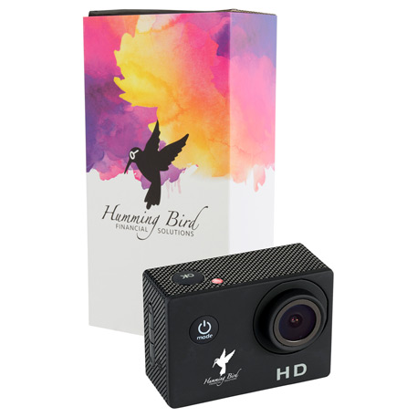 720P Action Camera with Full Color Wrap, 7141-91, 1 Colour Imprint