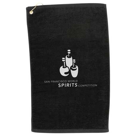 2.5lb./doz. Terry Golf Towel, 2090-02, 1 Colour Imprint