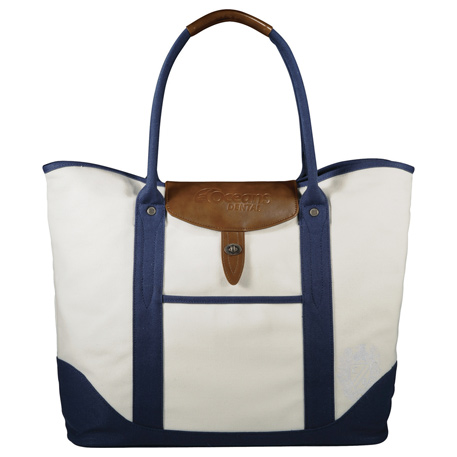 Cutter & Buck Legacy Cotton Canvas Boat Tote, 9840-04, Deboss Imprint