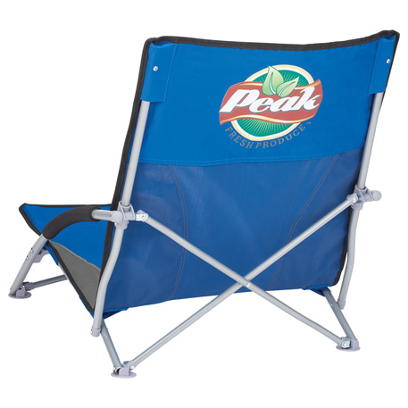 Low Sling Beach Chair, 1070-77, 1 Colour Imprint