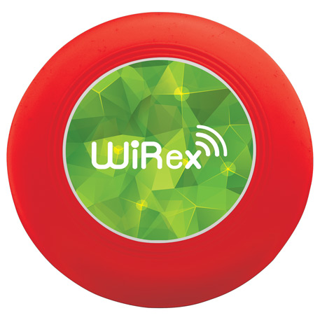 Nebula Wireless Charging Pad with Integrated Cable, 7141-23, 1 Colour Imprint
