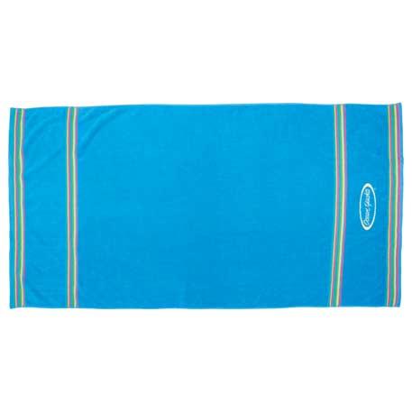 12lb./doz. South Beach Beach Towel, 2090-80 - Tone on Tone Imprint