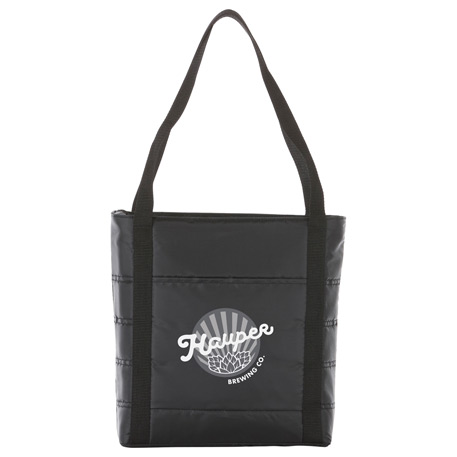 Quilted Lunch Cooler, 4200-25 - Debossed Imprint
