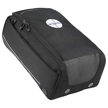 Cutter & Buck(R) Tour Deluxe Shoe Bag, 9860-63, 1 Colour Imprint