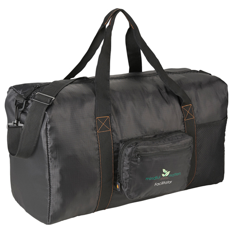 "BRIGHTtravels Packable 21"" Duffel Bag, 7007-09, 1 Colour Imprint"