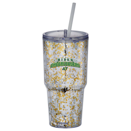 Hot & Cold Celebration Tumbler 24oz, 1625-12, 1 Colour Imprint