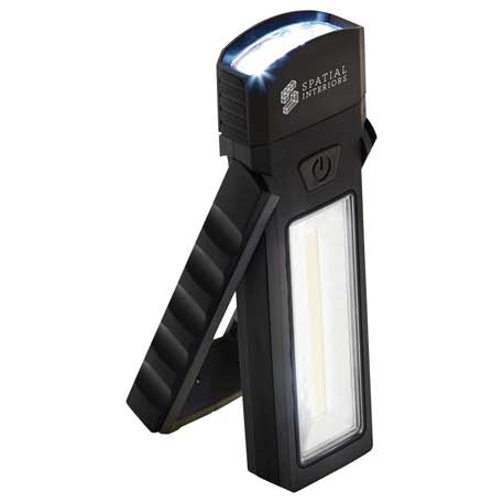 COB Magnetic Worklight with Torch and Stand, 1226-54 - 1 Colour Imprint