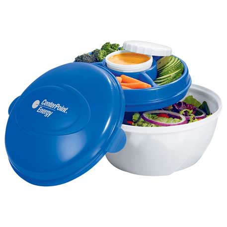 Cool Gear(R) Deluxe Salad Kit, 1025-80, 1 Colour Imprint