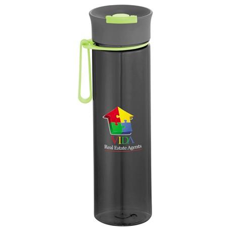 Punch BPA Free Tritan Water Bottle 21oz, 1624-16 - 1 Colour Imprint